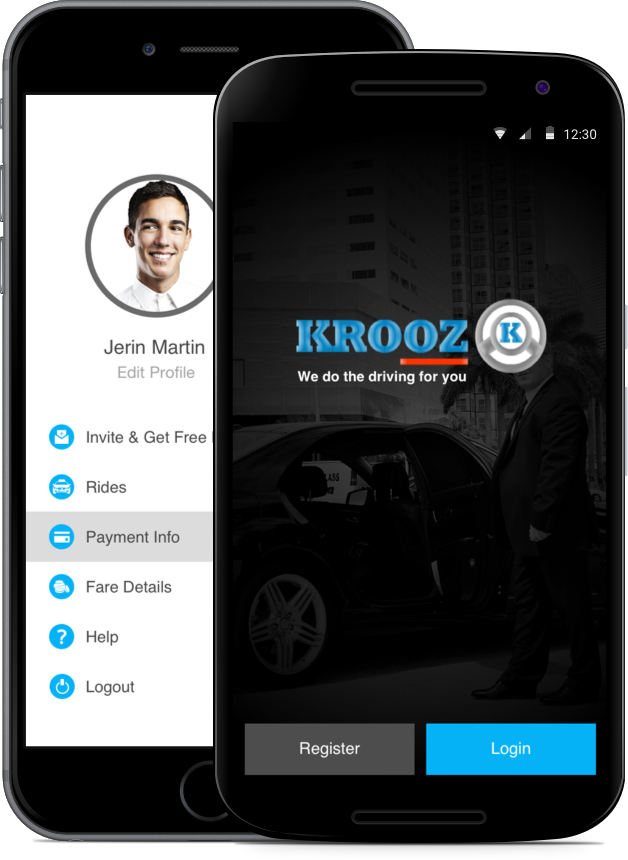 Download KROOZ apps