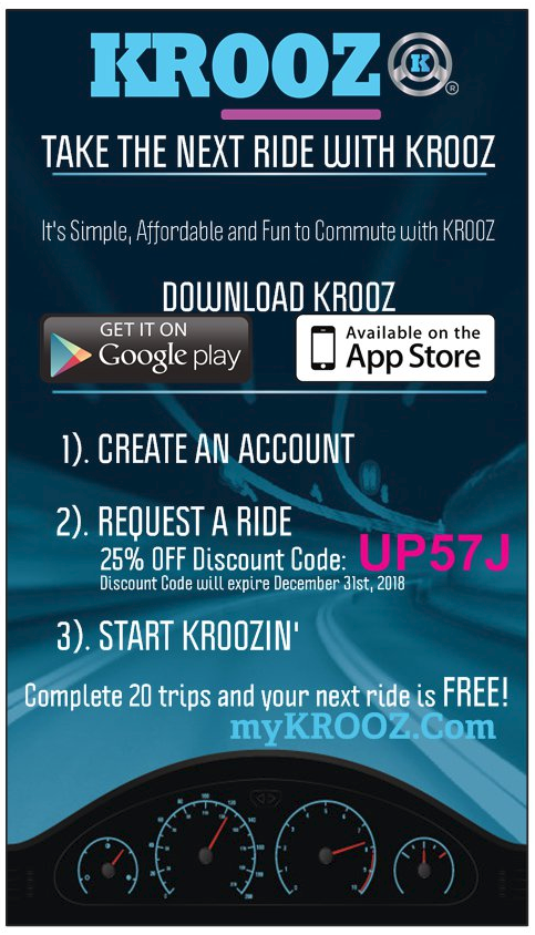 Take the next ride with krooz