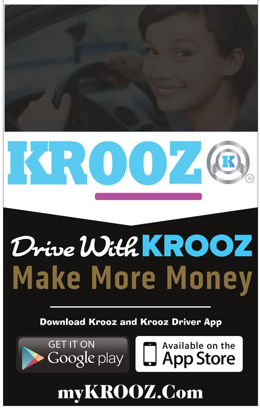 Drive with KROOZ
